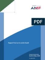 AMF_Rapport final sur le comité d'audit