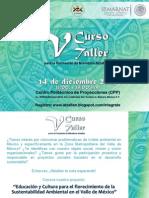Programa_V Curso-Taller para la Formación de Miembros Atzallan