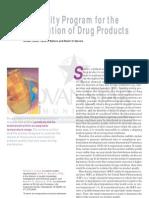 Article PharmTechn Stability Program Drug Distribution July 2004