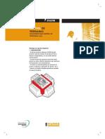 system m control persianas ficha de aplicación
