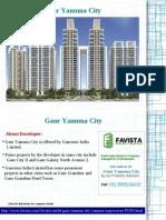 Gaur Yamuna City Call @ 09999536147 Yamuna Expressway Greater Noida