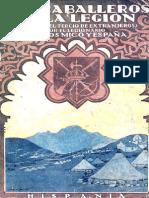 Los Caballeros de la Legión - Carlos Micó y España. 000