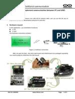 Wireless communication with arduino uno board