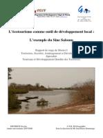 l Ecotourisme Comme Outil Du Developpement Local l Exemple Du Sine Saloum