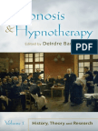 150348493 Deirdre Barrett Hypnosis and Hypnotherapy Volume 1-2-2010