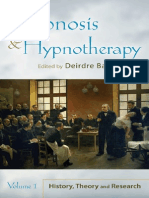 150348493 Deirdre Barrett Hypnosis and Hypnotherapy Volume 1-2-2010
