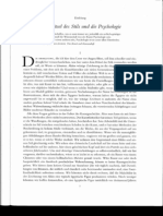 Gombrich, Ernst H. Kunst und Illusion. Zur Psychologie der bildlichen Darstellung, Einleitung (Das Rätsel des Stil u. die Psychologie, Kap. I und II)