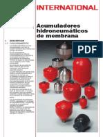 Acumulador Hidroneumatico de Membrana