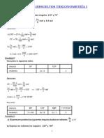 Ejercicios Resueltos Trigonometria I