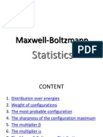 2 Statistic Maxwll Boltzmann