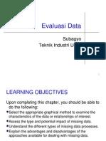 2. Evaluasi Data
