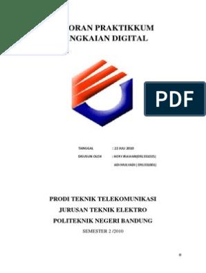 Laporan Praktikkum Rangkaian Digital 2