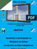 A Industria Nacional de Defesa Seprod Md