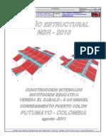 Diseño estructural Internado