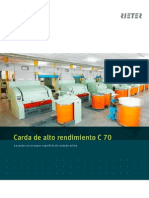 C 70 Card Brochure 2387-V1 Es Original 34424