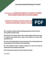 Neb Extraordinary Circumstances List ~ Version 1
