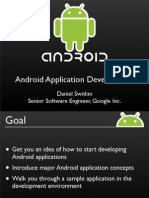 Android Development Application