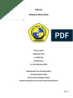 Infark miokard referat