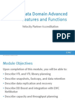 Module 4 -  Data Domain Advanced Features and Functions_v5