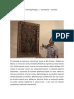 Visita Al Museo de Arte Religioso y Colonial La Merced