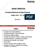 ELEC-09-003 CIRCUITOS ELÉCTRICOS DE BAJA POTENCIA ppt