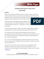 Pti Strategies for Building Contact Center
