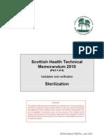Sterilization Guidelines 2010