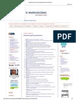 Data Warehousing_ Informatica Experienced Questions