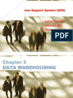 CH05 DSS Turban Data Warehouse At