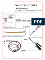 Preppers Basic Skill - Weapons