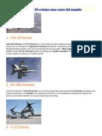 Los 10 Aviones Mas Caros Del Mundo
