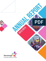 Stevenage Trust Annual Report