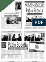 Versión impresa del periódico El mexiquense 29 noviembre 2013