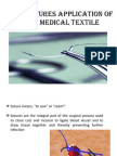 Sutures Application of Medical Textile