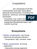 Ecosystems and Energy Flow