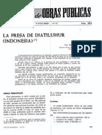 Jatiluhur Dam Design and Construction