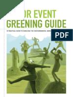 Major Event Greening Guide