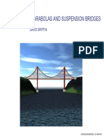 Maths_Catenaries, Parabolas and Suspension Bridges
