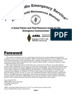 Are s Field Resources Manual
