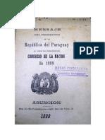 1888 - Patricio Escobar