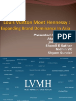 Louis Vuitton Moet Hennessy