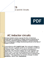 Inductants and AC Circuits