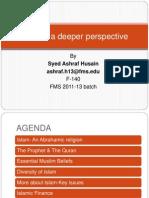 Ethics Islam Ashraf Ppt