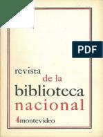 Revista Biblioteca Nacional a1 n4 1970