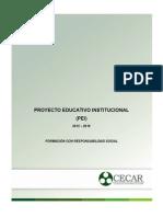 p.e.i y Plan de Desarrollo 2012-2016