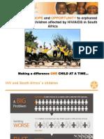 Starfish World Aids Day Presentation