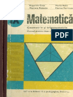 Cls 9 Manual Geometrie IX 1981