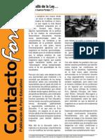 Contacto Foro - Agosto 2012