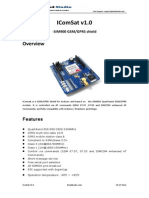 IComSatV1.1 GSM Shield Arduino - Datasheet