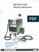 Migatronic MDU400 TIG Welder Manual